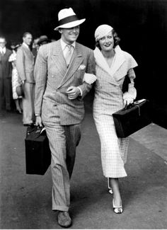 Douglas Fairbanks Jr. And wife, Joan Crawford