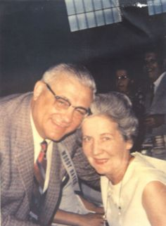 Woody and Anne Hayes
