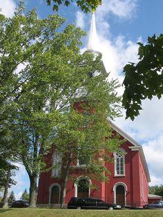 Richmond (église Sainte-Bibiane), Québec, Canada (45.667269, -72.148776)
