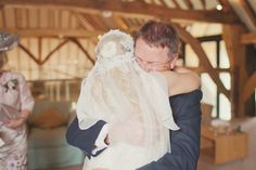 beautiful wedding moment between bride and father   Artistic & Alternative Wedding Photography   www.cottoncandyweddings.co.uk