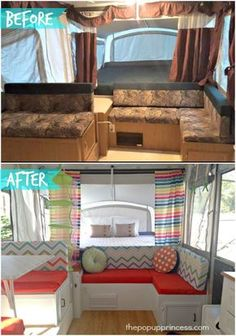 Jennifer S Pop Up Camper Makeover Camper Makeover