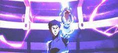 Mako lightning bending in the finale