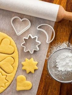 Simple and Delicious Vanilla Shortbread Recipe – Cooking Recipe – The most beautiful recipes Shortbread Recipes, Shortbread Cookies, Yummy Cookies, Biscuit Cookies, Cupcake Cookies, Desserts With Biscuits, Kolaci I Torte, Christmas Cookies, Kids Meals