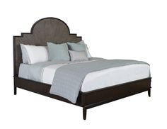 Morgan Bed - Wood Panel (Queen, King, Cal. King)