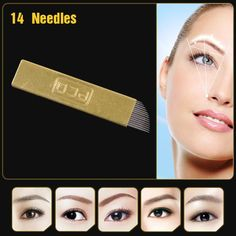 Wholesale Copper Pcd Permanent Eyebrow Makeup Manual Tattoo Bevel Blades 14 Needles Dirty Tattoo Needles Kingpin Needles From Bawanbian, $21.97| Dhgate.Com