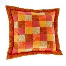 Patchwork povlaky na polštáře MIXFACTORY Throw Pillows, Scrappy Quilts, Toss Pillows, Cushions, Decorative Pillows, Decor Pillows, Scatter Cushions