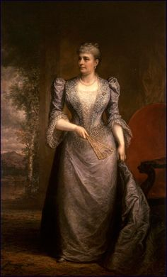 23rd First Lady Caroline Harrison, Official White House portrait