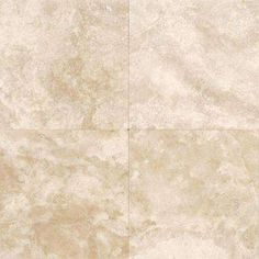 Travertine Torreo 16 in. x 16 in. Honed Natural Stone Floor and Wall Tile (10.68 sq. ft. / case)