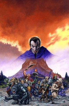 Return to Firetop Mountain cover art by Les Edwards. This was book 50 in the original Puffin series.