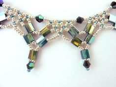FREE beading pattern for necklace