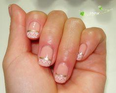 nail stamping wedding nail