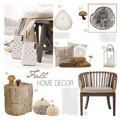 """""""Fall Home Decor"""" by c-silla ❤ liked on Polyvore featuring interior, interiors, interior design, home, home decor, interior decorating, John Robshaw, Madison Park, Natural Curiosities and NOVICA"""