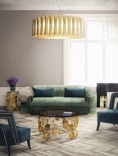 Fesselnd Samt Sofa | Wohndesign | Wohnzimmer Ideen | BRABBU | Einrichtungsideen |  Luxus Möbel | Wohnideen