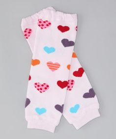 Take a look at this Pink Sweet Heart Leg Warmers by Tutus by Tutu AND Lulu on #zulily today!