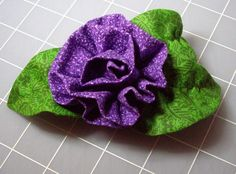 Picture of Fabric Corsage...complete step by step instructions!..very pretty!!
