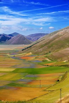 photo by Antonello Fardella - Castelluccio di Norcia. Province of Perugia Umbria, Italy.