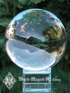 White Magick Alchemy - Magical Crystal Ball and Stand . 2 Inch ~ Divination Workings, Scrying, Amplification, Foretelling the Future, Balancing, $13.95 (http://www.whitemagickalchemy.com/magical-crystal-ball-and-stand-2-inch-divination-workings-scrying-amplification-foretelling-the-future-balancing/)