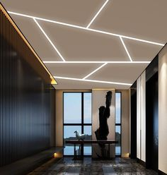 We offer an exclusive range of LED Aluminum Profiles.Also our energy efficient LED lights are available in various shapes and sizes at affordable price.Furthermore Our Led Aluminum Profiles includes many kinds:surface mounted,recessed,pendant,corner type,Round,Stair and Flexible types. Simple False Ceiling Design, Gypsum Ceiling Design, Interior Ceiling Design, House Ceiling Design, Ceiling Design Living Room, Home Lighting Design, Bedroom False Ceiling Design, Ceiling Light Design, Home Ceiling
