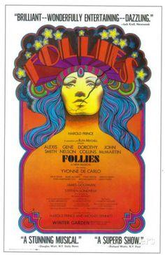 Ziegfeld Follies - Broadway Poster , 1943 Masterprint at AllPosters.com