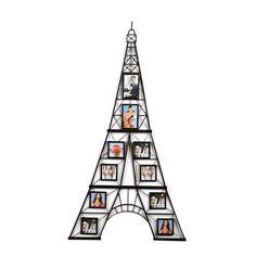 eiffel tower 10 opening collage frame - Eiffel Tower Picture Frame