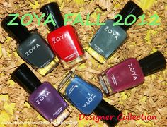 Zoya Fall 2012 Designer Collection Swatches & Overview! (From Stephanie Louise- All Things Beautiful)