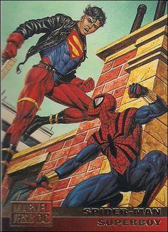 Spiderman vs Superboy ('95)