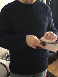 Babyalpaka Männerpullover! Strickanleitung von Junghans, Free Pattern Junghans, Pullover, Free, Fashion, Breien, Moda, Fashion Styles, Sweater, Sweaters