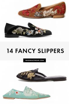 Who says you have to wear heels? Fashion girls love these fancy slippers for dressy occasions