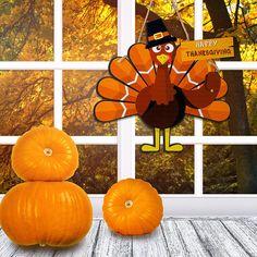 Turkey Wooden Door Sign Hanging Turkey Art Door Decor Thanksgiving Turkey Wall Art Hanging Rustic Plaque for Thanksgiving