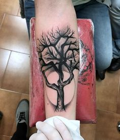 dark tree tattoos