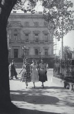 Collins St Melbourne Australia 1950's.