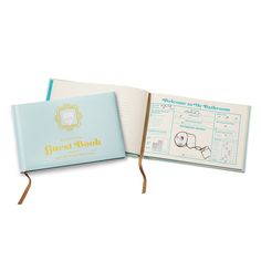 Turn the everyday bathroom break into a chance to record your deepest thoughts for the ages with this quirky guest book.