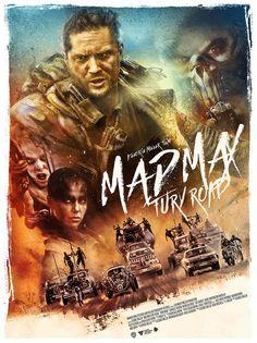 Une belle affiche de Mad Max : Fury Road ! Ma critique du film : http://dedale-d-idees.blogspot.fr/2015/06/cqjp-1-mad-max-fury-road.html