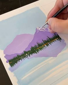 flowers videos WATERCOLOR PAINTING You don't have to be an artist to enjoy this watercolor painting😍 Watercolor Paintings For Beginners, Simple Canvas Paintings, Canvas Painting Tutorials, Diy Canvas Art, Watercolor Art, Art Drawings Sketches Simple, Easy Nature Drawings, Drawing Ideas, Art Painting Gallery