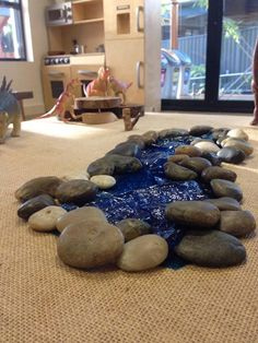 """Dinosaur play at Baulkham Hills Early Learning Centre - image shared by let the children play ("""",)"""