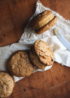 Pumpkin Ice Cream Sandwiches   19 Delicious Ice Cream Sandwiches That'll Instantly Make You Happy