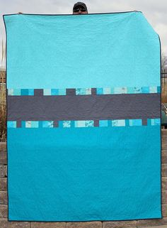 Quilt Back: Dual Screen quilt back by A Bright Corner, via Flickr