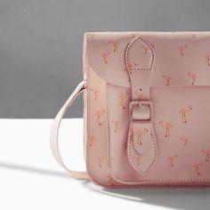 Image 3 of FLAMINGO PRINT SATCHEL from Zara