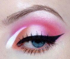 Peachy Pop! Summer Inspired Makeup look :) - Album on Imgur