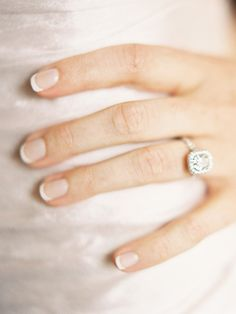10 French Manicure Ideas for Your Wedding Day | TheKnot.com