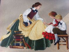 Counted Cross Stitch - Butternut Road, The Teacher I found MP Christmas gift!!