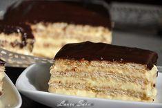Romanian Food, Vanilla Cake, Tiramisu, Biscuits, French Toast, Cheesecake, Deserts, Food And Drink, Sweets