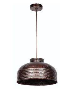 Another great find on #zulily! Copper Acton Pendant Light #zulilyfinds