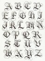 Resultado de imagen para letra cursiva para tatuajes