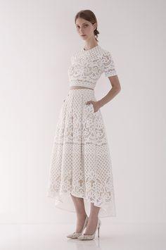 Libra Crop Top and Midi Skirt, $1,295