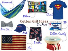 Second Anniversary Cotton Gifts For Him - Love at Logan