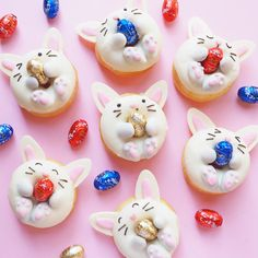 This Adorable Bunny Donuts Recipe Is a Must-Have for Your Easter Dessert Spread via Brit + Co