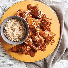 Chicken and Rice with Mole From Better Homes and Gardens, ideas and improvement projects for your home and garden plus recipes and entertaining ideas.