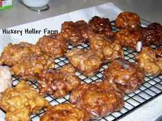 Hickery Holler Farm: Apple Fritters