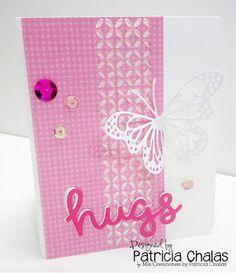 Dies R Us: Hugs Card
